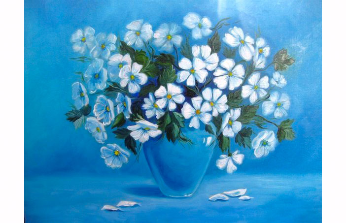 Картинки художников цветы и природа