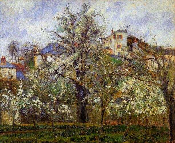 Весна в Понтуазе