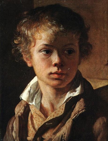 Голова мальчика (Портрет сына, Арсения Тропинина)