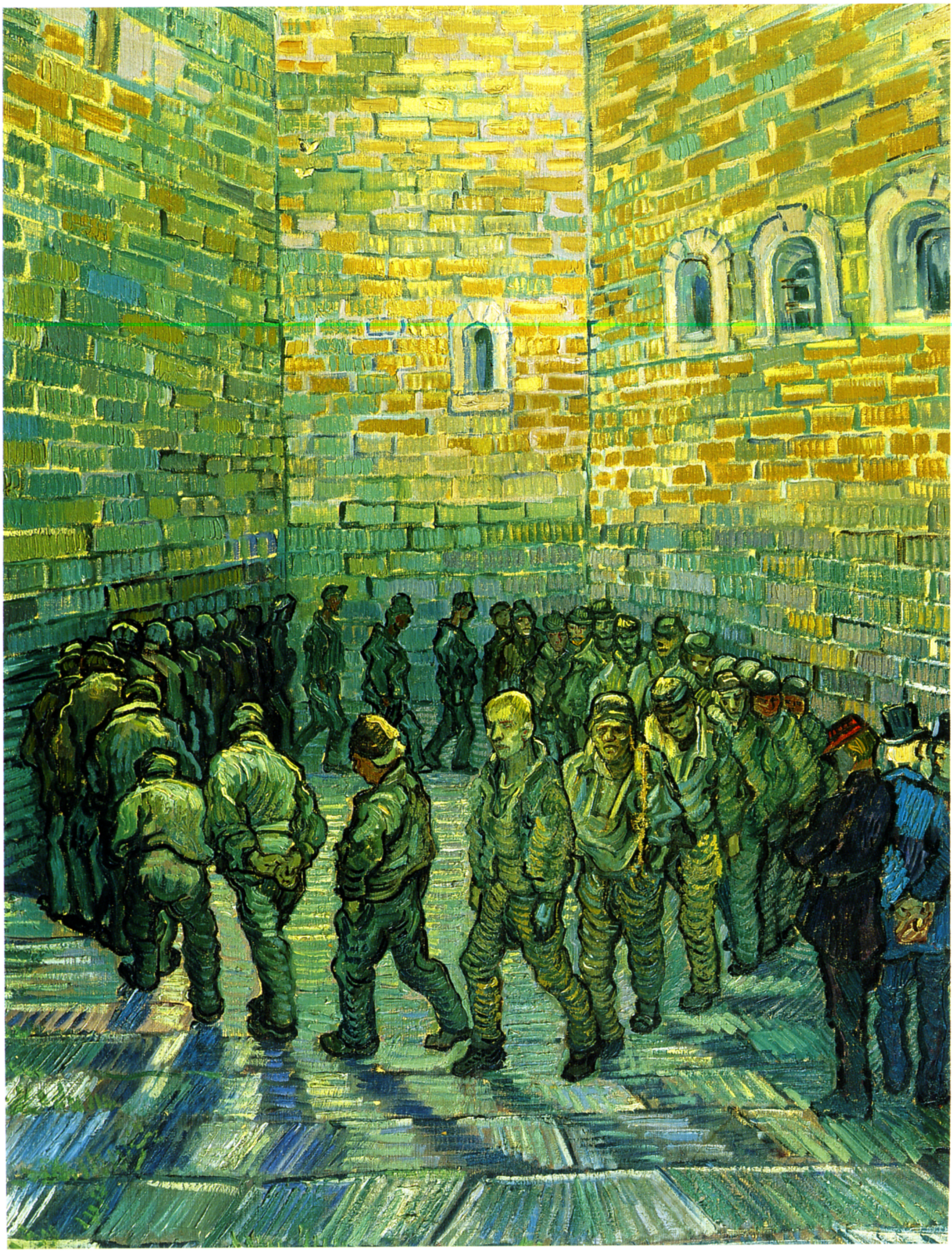 Прогулка заключённых