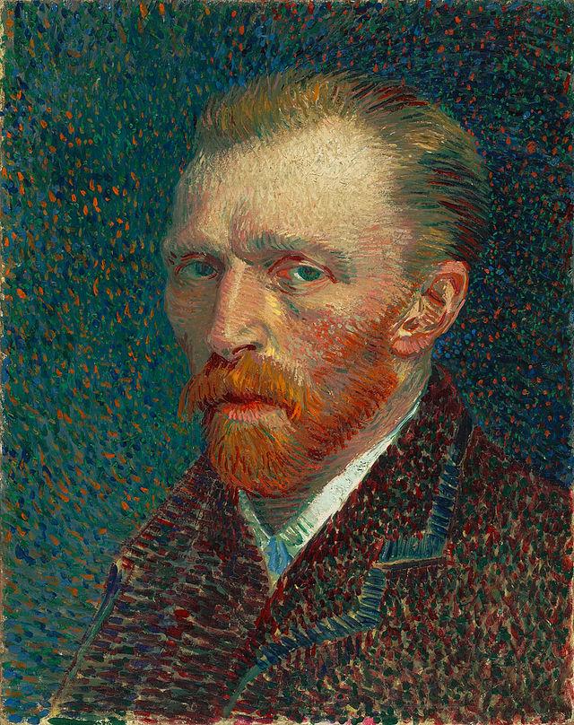портрет Ван Гог