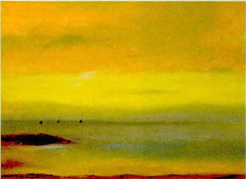 Висенс Балестар, Морской пейзаж