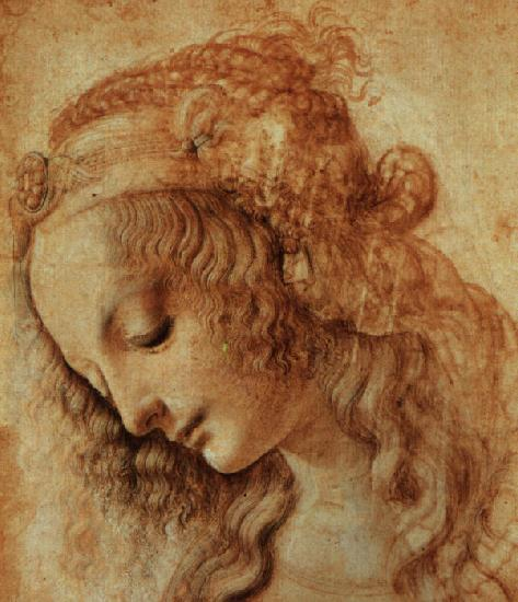 Леонардо да Винчи, Рисунок женской головы