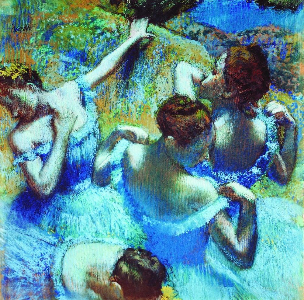 Эдгар Дега, Голубые танцовщицы