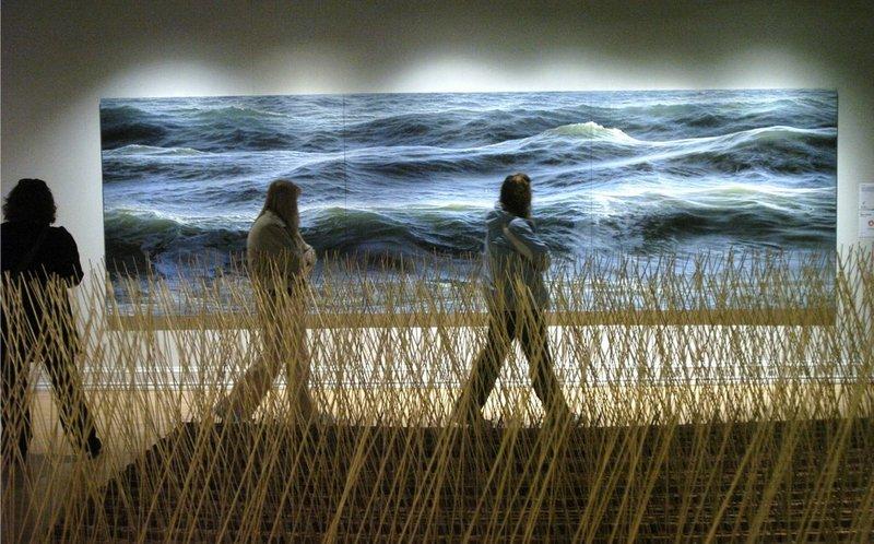Трава у моря