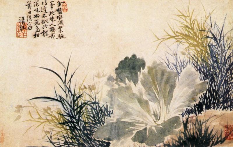 Старинная китайская живопись.