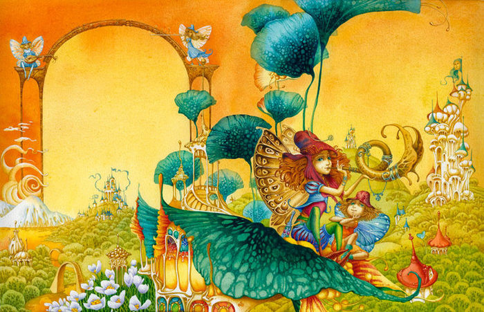 Детская иллюстрация, Д. Непомнящий