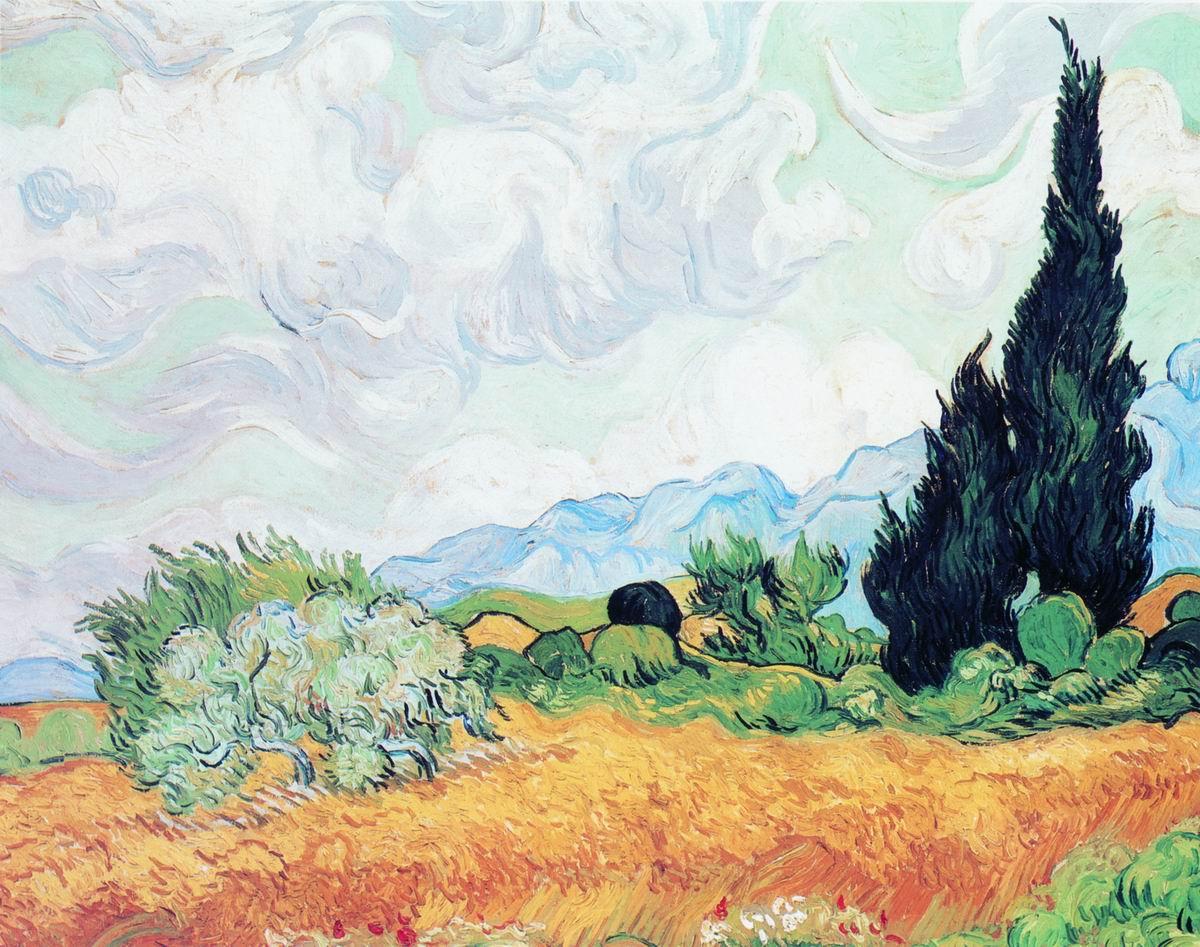 известные картины ван гога