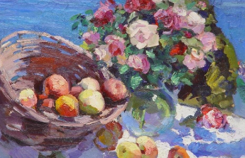 розы и яблоки
