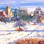 Снег в Провансе